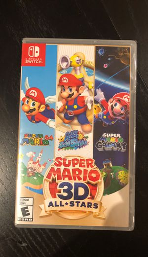 Brand new super Mario 3D All starts for Nintendo switch for Sale in Centreville, VA
