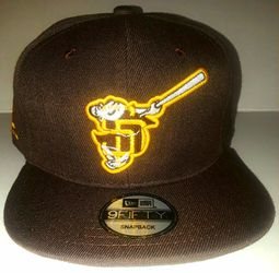 San Diego Padres Swinging Friar Snapback Hat - Brown/Gold/White for Sale in Richmond, VA
