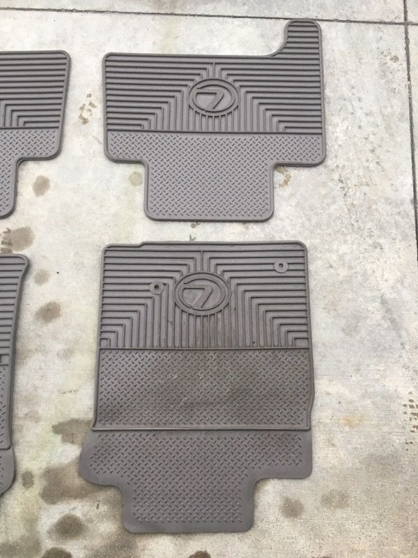 Lexus GX470 rubber floor mats for Sale in Westminster, CA - OfferUp