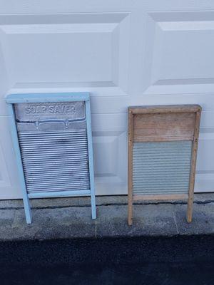 Antique wash boards for Sale in Fairfax, VA