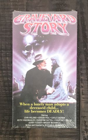 NEW and SEALED Graveyard Story VHS Movie for Sale in Port St. Lucie, FL