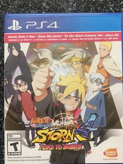 Naruto Shippiden Ultimate Ninja 4 With Road To Boruto Expansion for Sale in Lithonia,  GA