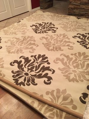8x10 area rug brand new / beige brown for Sale in Glendale, AZ
