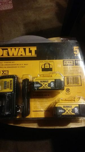 New Dewalt Starter Kit for Sale in Moriarty, NM