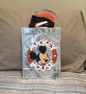 Mickey Mouse & Minnie Mouse 2 Pack Reusable Small Tote Bags for Sale in Los Angeles, CA