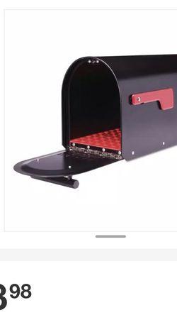 Sequoia Black Heavy Duty Post Mount Mailbox for Sale in Sacramento,  CA