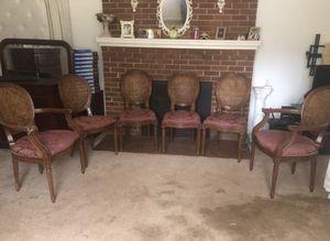 Antique chairs set for Sale in Fairfax, VA