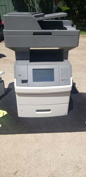Lexmark x5651de printer/scanner/fax machine. for Sale in Normal, IL