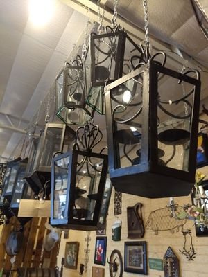 Iron candelabras / light fixtures for Sale in Phoenix, AZ