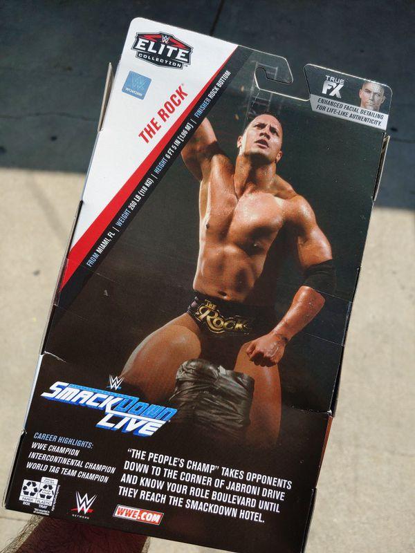 WWE Elite The Rock