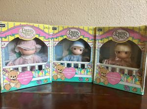 NEW in box. Vintage 1992 Precious Moments Dolls. for Sale in Austin, TX