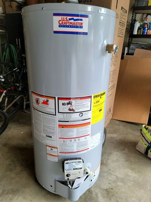 Hot water heater gas 40gal/$375 wh/ I will install for $500 for Sale in Bowie, MD