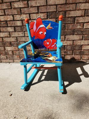 Finding Nemo rocking chair for kids for Sale in Aloma, FL
