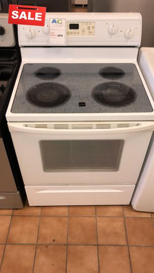 FIRST COME!!CONTACT TODAY! Electric Stove Oven Whirlpool 5.8 cu ft #1492 for Sale in Silver Spring, MD