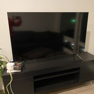 TV unit With Samsung UHD 55 Inch TV for Sale in Seattle, WA