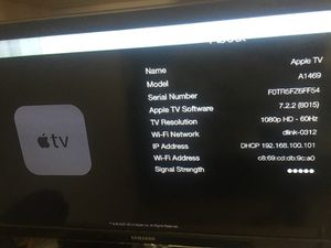 Apple TV and Samsung TV Bundle for Sale in Clermont, FL