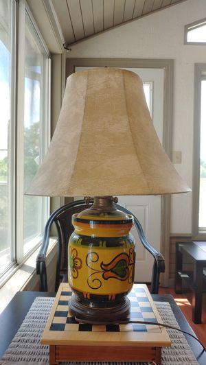 Beautiful Elaborate Design Lamp for Sale in Andover, MA