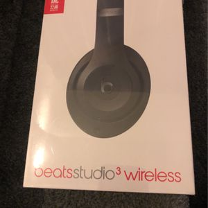 Beat Studio 3 Wireless Headphones Black for Sale in Pottstown, PA