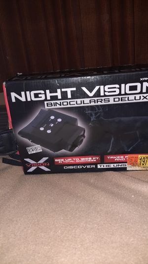 Night vision binoculars deluxe for Sale in Fresno, CA