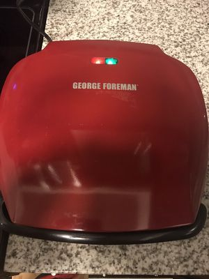 TAKING BEST OFFER!!! Red George Foreman grilling machine for Sale in Tampa, FL