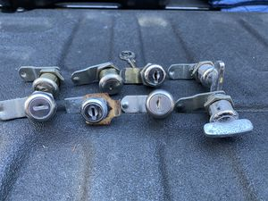 RV toy hauler travel trailer CH751 locks. Replaced all my locks to barrel type for Sale in Stockton, CA