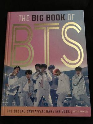 THE BIG BOOK OF BTS for Sale in Grand Prairie, TX