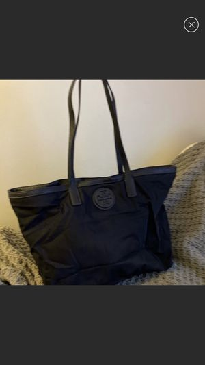 Tory Burch navy tote bag for Sale in Skokie, IL