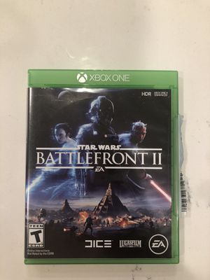 Star Wars Battlefront 2 Xbox one for Sale in Huntersville, NC