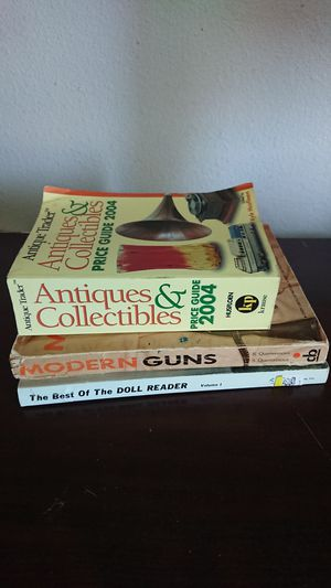 Collectors books bundle of 3 for Sale in Glendale, AZ