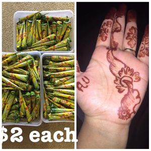 Naaz brand henna cone only in $2 for Sale in Lilburn, GA