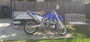 Yamaha WR250R WR250X Blue/ white body plastics for Sale in San Diego, CA