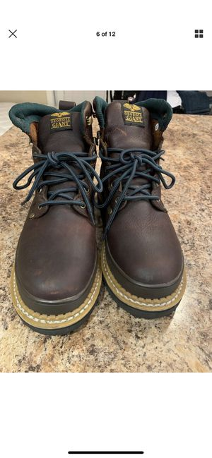 GEORGIA GIANT Brown Leather Steel Toe Work Boot G6374 Men's 9M for Sale in Fort Worth, TX