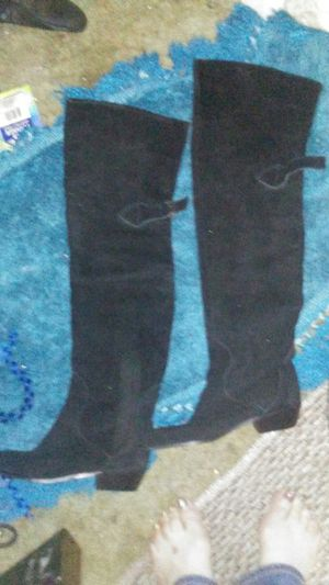 """Above the knee """"thigh high suede boots for Sale in Tacoma, WA"""