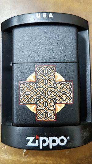Zippo Celtic sun black matte 90696 for Sale in Los Angeles, CA