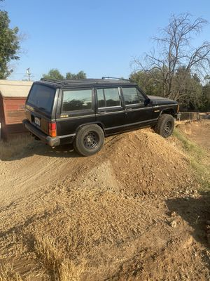 3- 5 on 4.5 wheels and tires Jeep xj for Sale in Riverside, CA