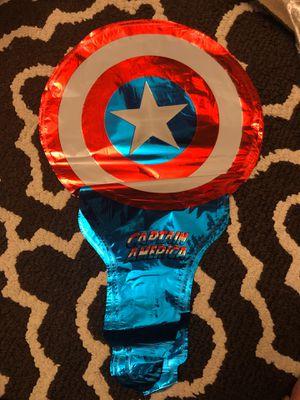 Captain America Handheld 10 Ballons for Sale in Glendora, CA