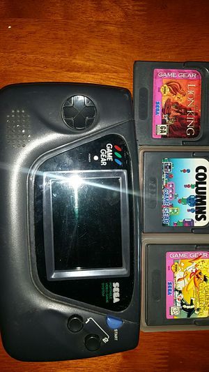 Game Gear plus games for Sale in Ontario, CA