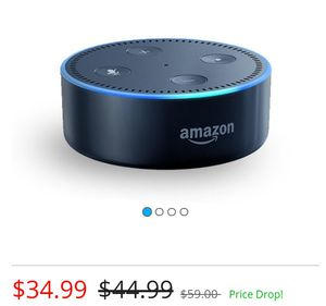 Amazon Echo Dot second generation for Sale in Duluth, MN
