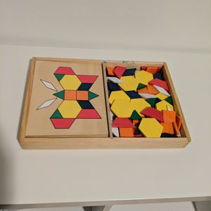 Melissa & Doug Pattern Blocks for Sale in Vancouver, WA