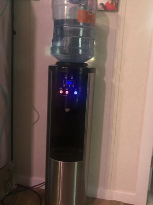 Black and Stainless Steel Water cooler for Sale in Tampa, FL