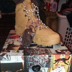 "Jordan retro 9 boots. ""Wheat"" for Sale in Denver, CO"