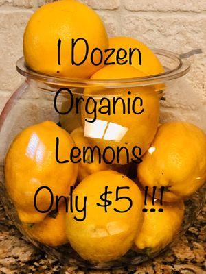 🍋 ORGANIC Lemons 🍋 for Sale in Chula Vista, CA