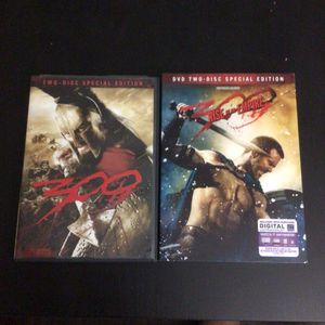 Frank Miller's 300 (Used) & 300 Rise of an Empire (New) DVD Movies for Sale in Phoenix, AZ
