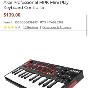 Mpk Mini Keyboard for Sale in Henderson, NV