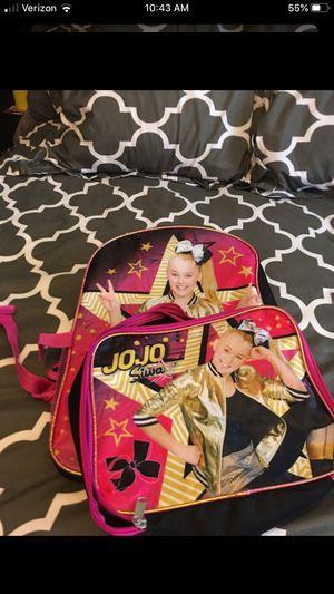 JoJo Siwa backpack\ lunch box for Sale in La Mirada, CA