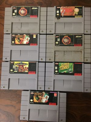 Super Nintendo games for Sale in Garland, TX
