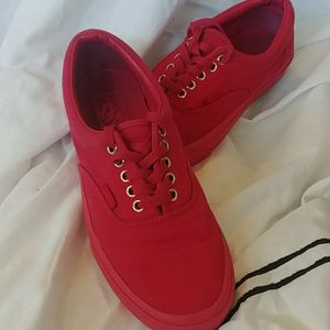 All Red Vans, size W8.5,M7 for Sale in Placentia, CA
