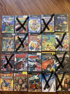 Nintendo GameCube games for Sale in Tampa, FL