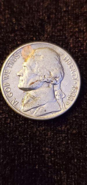 1988 D Jefferson Nickel for Sale in N REDNGTN BCH, FL
