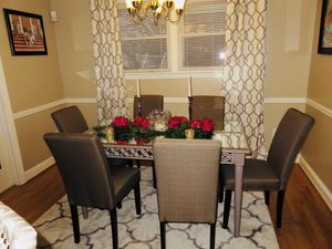 Z Gallerie Inspired Taupe Mirrored Dining Table (table only) $500 OBO for Sale in Fort Washington, MD